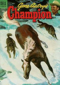 Cover Thumbnail for Gene Autry's Champion (Dell, 1951 series) #17