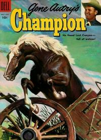Cover for Gene Autry's Champion (Dell, 1951 series) #18
