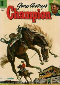 Cover Thumbnail for Gene Autry's Champion (Dell, 1951 series) #19