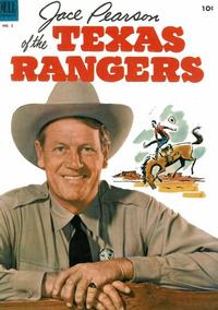 Cover Thumbnail for Jace Pearson of the Texas Rangers (Dell, 1953 series) #2