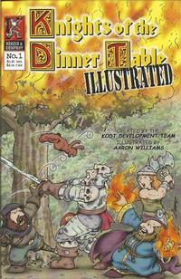 Cover Thumbnail for Knights of the Dinner Table Illustrated (Kenzer and Company, 2000 series) #1