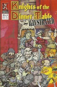 Cover Thumbnail for Knights of the Dinner Table Illustrated (Kenzer and Company, 2000 series) #4