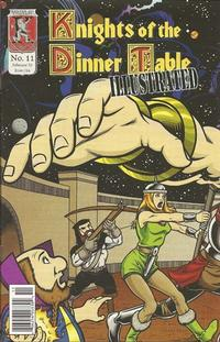 Cover Thumbnail for Knights of the Dinner Table Illustrated (Kenzer and Company, 2000 series) #11