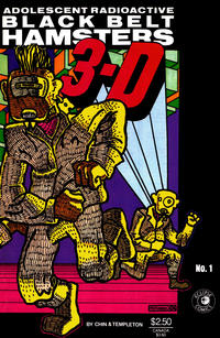 Cover Thumbnail for Adolescent Radioactive Black Belt Hamsters 3-D (Eclipse, 1986 series) #1