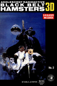 Cover Thumbnail for Adolescent Radioactive Black Belt Hamsters 3-D (Eclipse, 1986 series) #2