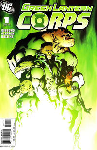 Cover Thumbnail for Green Lantern Corps (DC, 2006 series) #1