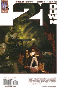 Cover Thumbnail for 21 Down (DC, 2002 series) #9