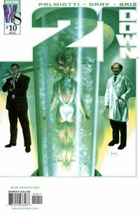 Cover Thumbnail for 21 Down (DC, 2002 series) #10