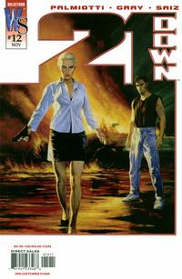 Cover Thumbnail for 21 Down (DC, 2002 series) #12