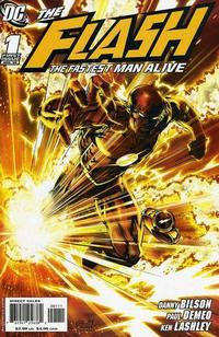 Cover Thumbnail for Flash: The Fastest Man Alive (DC, 2006 series) #1 [Ken Lashley / Greg Parkin Cover]