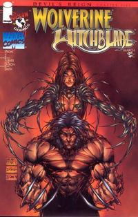 Cover Thumbnail for Wolverine / Witchblade (Image, 1997 series) #1 [Red Cover]