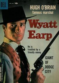 Cover Thumbnail for Hugh O'Brian, Famous Marshal Wyatt Earp (Dell, 1958 series) #4