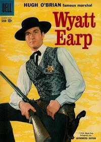 Cover Thumbnail for Hugh O'Brian, Famous Marshal Wyatt Earp (Dell, 1958 series) #6