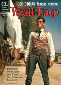 Cover for Hugh O'Brian, Famous Marshal Wyatt Earp (Dell, 1958 series) #11