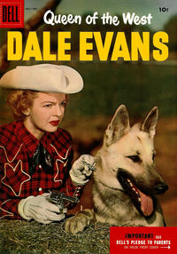 Cover Thumbnail for Queen of the West Dale Evans (Dell, 1954 series) #9