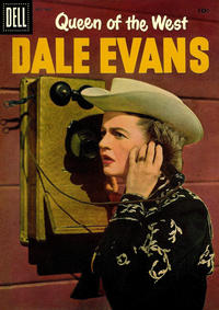 Cover Thumbnail for Queen of the West Dale Evans (Dell, 1954 series) #13