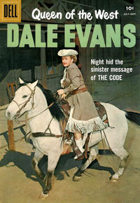 Cover Thumbnail for Queen of the West Dale Evans (Dell, 1954 series) #16