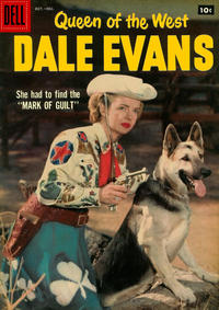 Cover Thumbnail for Queen of the West Dale Evans (Dell, 1954 series) #17