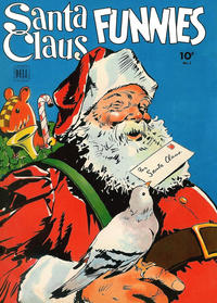 Cover Thumbnail for Santa Claus Funnies (Dell, 1942 series) #2