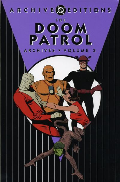 Cover for The Doom Patrol Archives (DC, 2002 series) #3