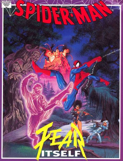 Cover for Spider-Man: Fear Itself (Marvel, 1992 series)