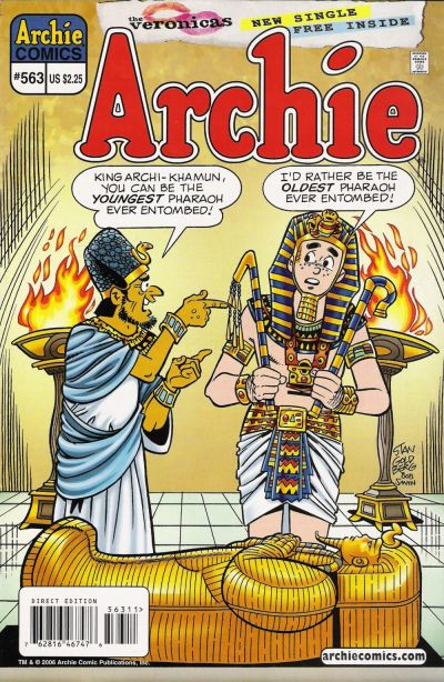 Cover for Archie (Archie, 1959 series) #563