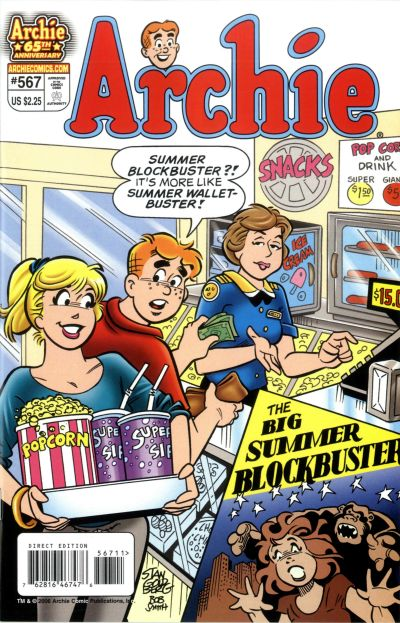 Cover for Archie (Archie, 1959 series) #567