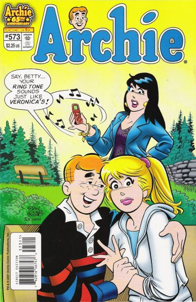 Cover for Archie (Archie, 1959 series) #573