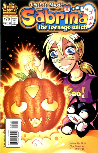 Cover for Sabrina the Teenage Witch (Archie, 2003 series) #79