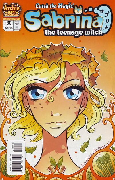 Cover for Sabrina the Teenage Witch (Archie, 2003 series) #80