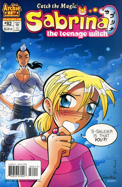Cover for Sabrina the Teenage Witch (Archie, 2003 series) #82