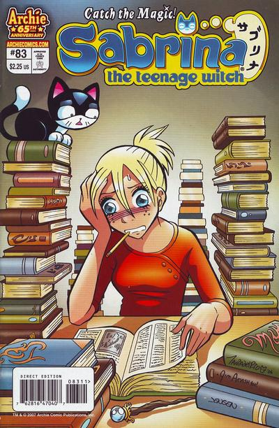 Cover for Sabrina the Teenage Witch (Archie, 2003 series) #83 [Direct Edition]