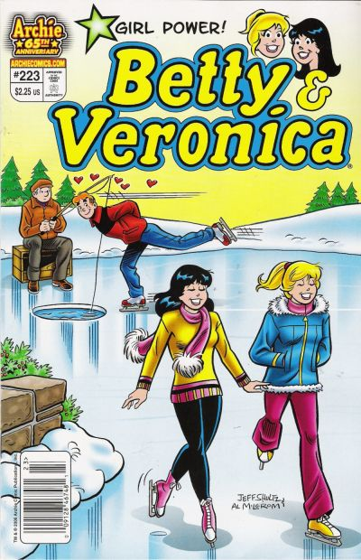 Cover for Betty and Veronica (Archie, 1987 series) #223