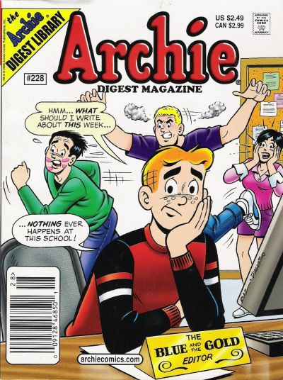 Cover for Archie Comics Digest (Archie, 1973 series) #228