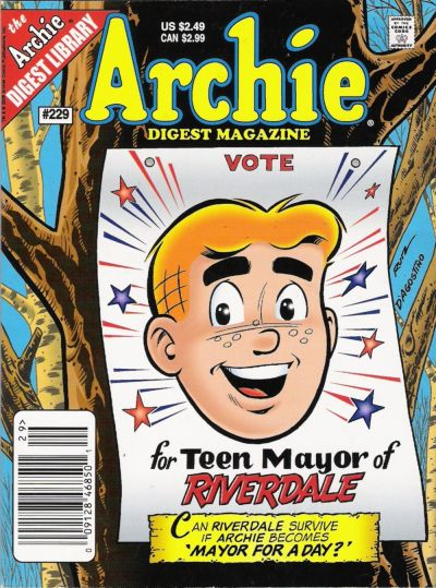 Cover for Archie Comics Digest (Archie, 1973 series) #229
