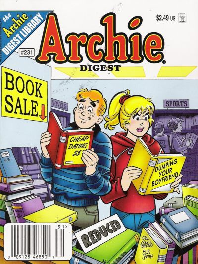Cover for Archie Comics Digest (Archie, 1973 series) #231