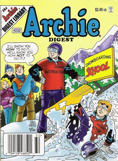 Cover for Archie Comics Digest (Archie, 1973 series) #232