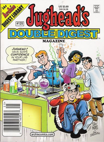 Cover for Jughead's Double Digest (Archie, 1989 series) #125