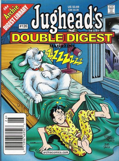 Cover for Jughead's Double Digest (Archie, 1989 series) #126