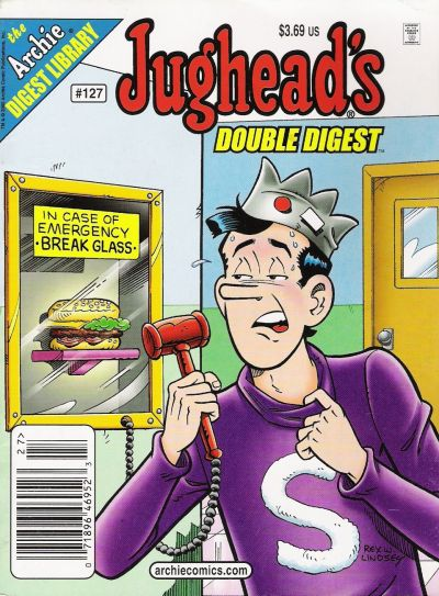 Cover for Jughead's Double Digest (Archie, 1989 series) #127