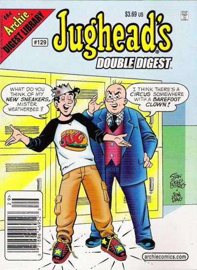 Cover for Jughead's Double Digest (Archie, 1989 series) #129 [Newsstand]