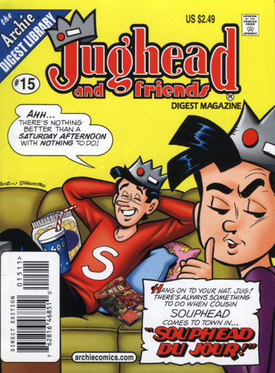 Cover for Jughead & Friends Digest Magazine (Archie, 2005 series) #15