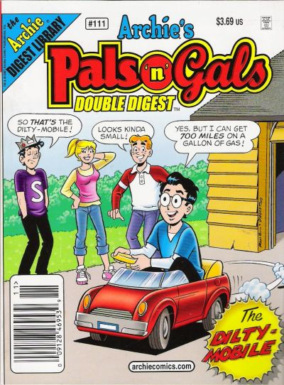 Cover for Archie's Pals 'n' Gals Double Digest Magazine (Archie, 1992 series) #111