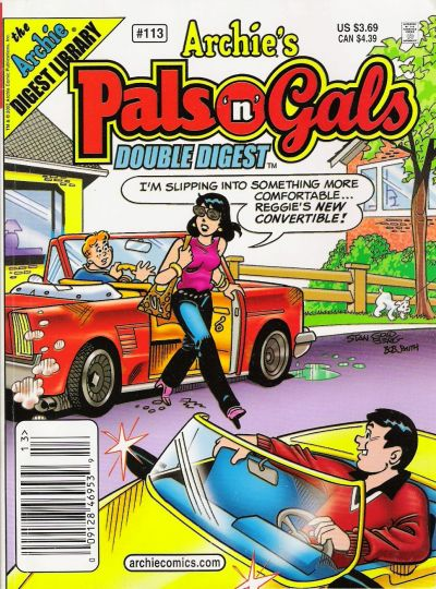 Cover for Archie's Pals 'n' Gals Double Digest Magazine (Archie, 1992 series) #113