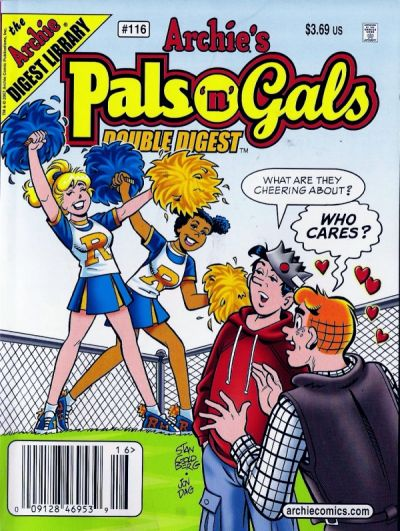 Cover for Archie's Pals 'n' Gals Double Digest Magazine (Archie, 1992 series) #116