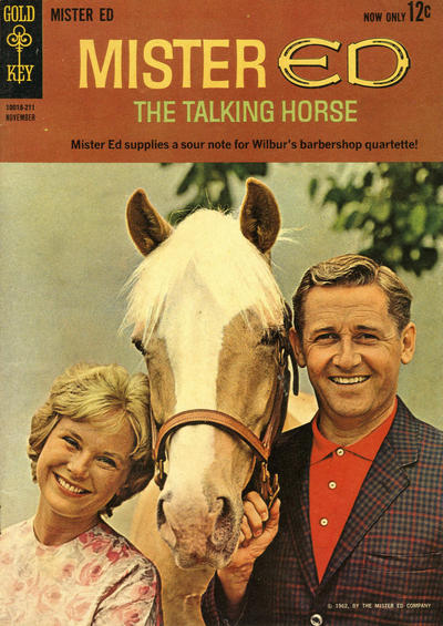 Cover for Mister Ed, the Talking Horse (Western, 1962 series) #1