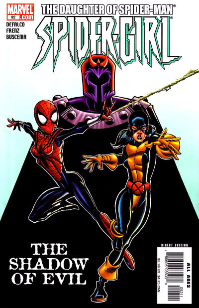 Cover for Spider-Girl (Marvel, 1998 series) #92