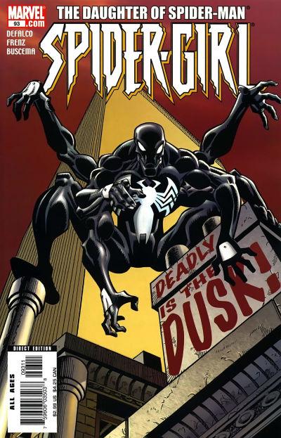 Cover for Spider-Girl (Marvel, 1998 series) #93