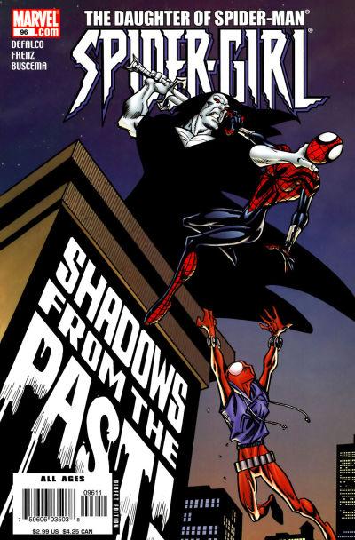 Cover for Spider-Girl (Marvel, 1998 series) #96