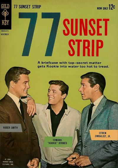 Cover for 77 Sunset Strip (Western, 1962 series) #1